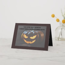 Hallowen Card