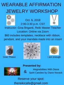 Mandala Workshop Flyer