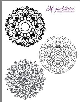 Mandalas for Magnabilities party