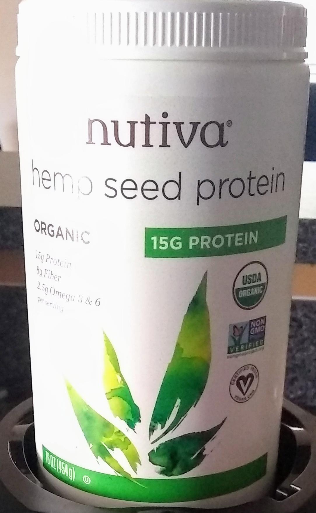 Nutiva Protein Powder